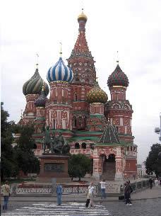 モスクワ赤の広場の寺院