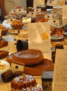 神戸会場(パティスリー・モンプリュ)のお菓子
